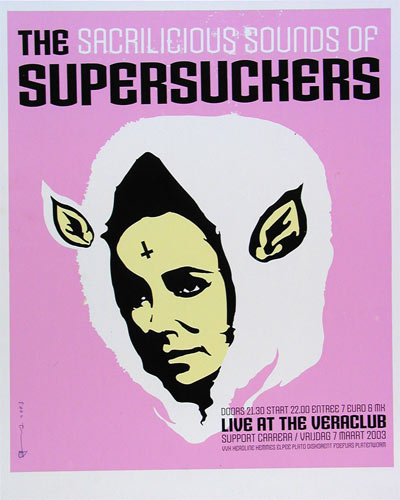 Paul van der Werf Supersuckers Poster