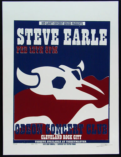 Sean Carroll Steve Earle Poster