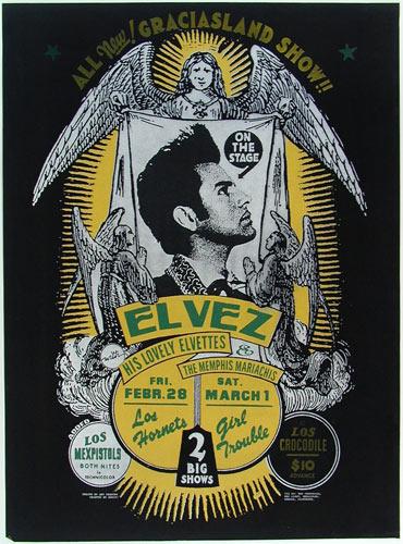 Art Chantry El Vez Poster