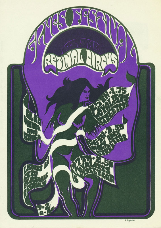 Steve Seymour Blues Festival with Mock Duck Postcard