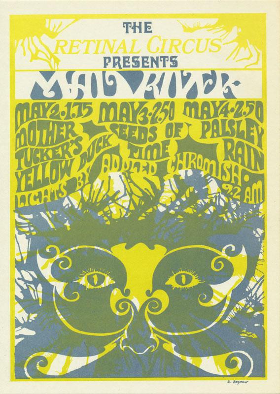 Steve Seymour Mad River Postcard