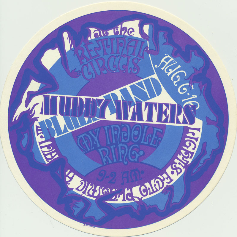 Steve Seymour Muddy Waters Blues Band Postcard