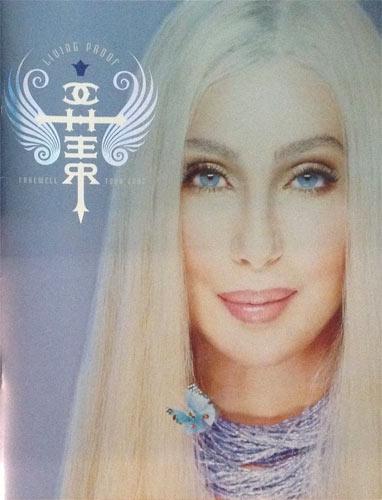 Cher 2003 Living Proof Farewell Tour Program