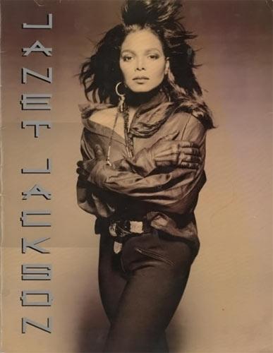 Janet Jackson Rhythm Nation 1990 World Tour Program