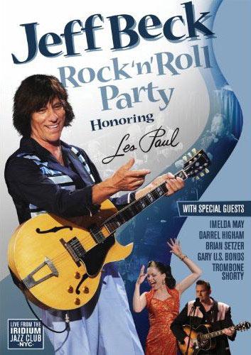 Jeff Beck Rock n' Roll Party Les Paul Memorial Concert Program
