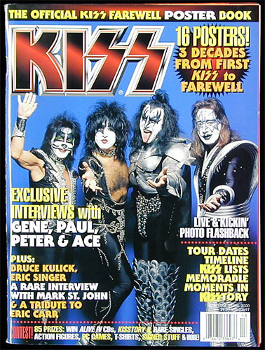 KISS Farewell Poster Book