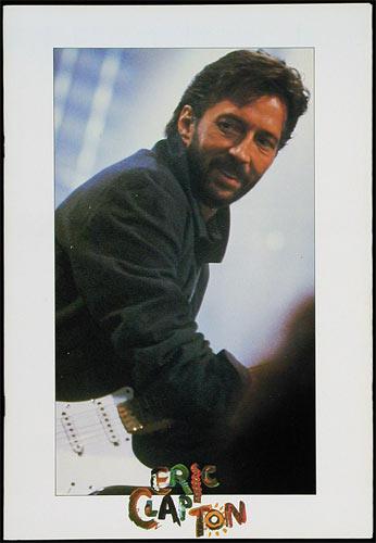 Eric Clapton - Behind The Sun Tour 1985 Concert Program