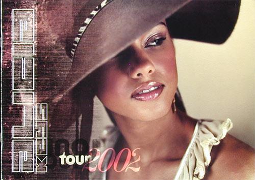 Alicia Keys 2002 Tour Concert Program