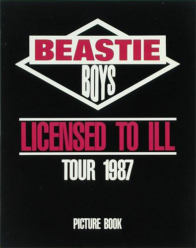 Beastie Boys Licensed to Ill 1987 Tour Program