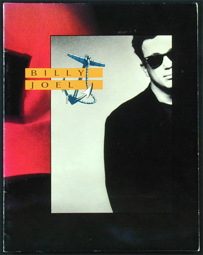 Billy Joel 1989 Tour Concert Program