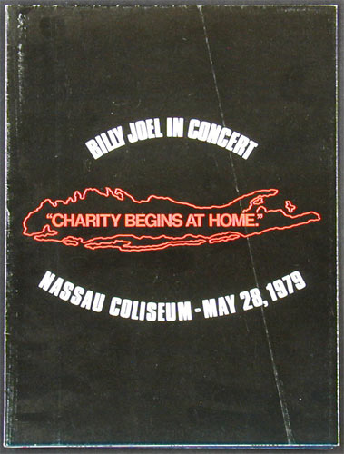 Billy Joel 1979 Concert Program