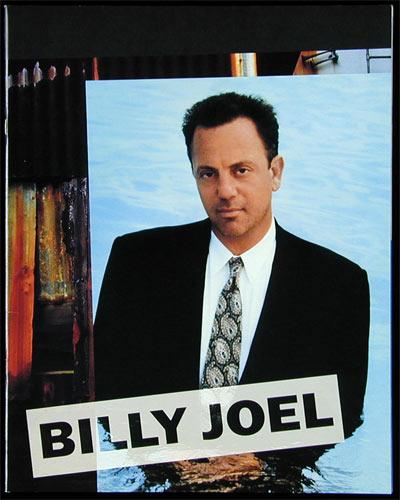 Billy Joel 1995 River of Dreams Tour Japanese Program