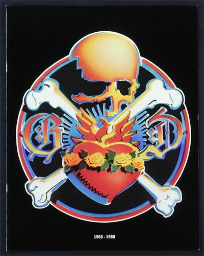 Rick Griffin Grateful Dead 1980 Tour Program