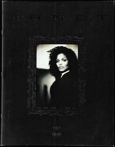 Janet Jackson The Velvet Rope 1998 Tour Program