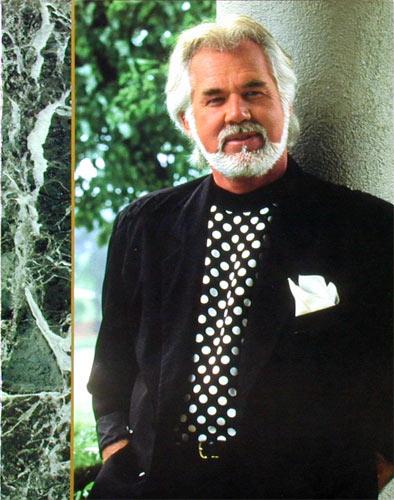 Kenny Rogers 1991 Concert Program