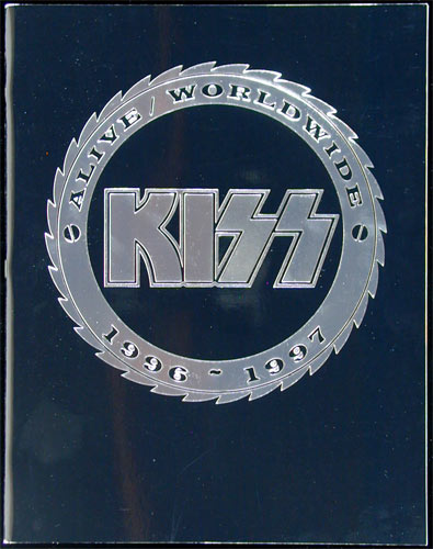 KISS 1996-1997 Alive / Worldwide Tour Program