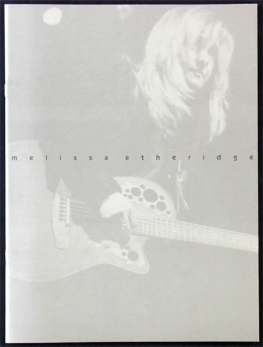 Melissa Etheridge 1996 Tour Program