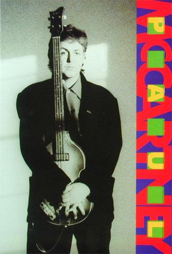 Paul McCartney 89-90 World Tour Concert Program