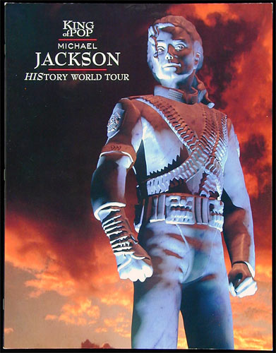 Michael Jackson 1996-1997 HIStory World Tour  Program