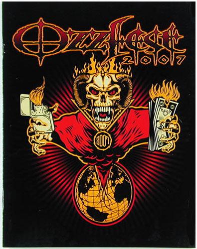 Ozzfest 2007 Concert Program
