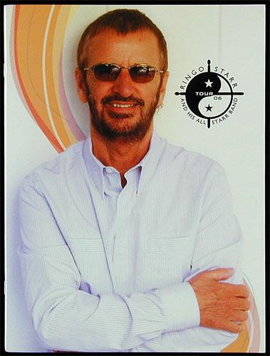 Ringo Starr 2006 Tour Program