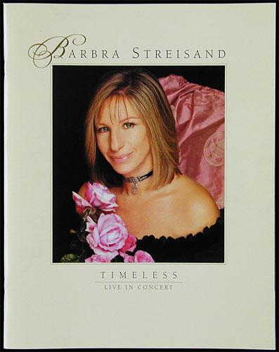 Barbra Streisand Timeless New Years Eve 1999 Concert Program