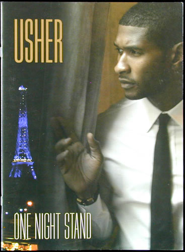 Usher One Night Stand 2008 Tour Program