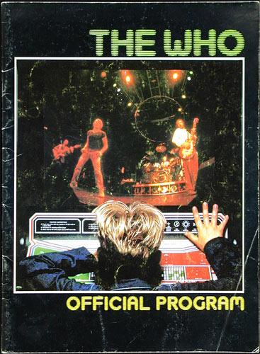 1982 The Who It's Hard Concert Program