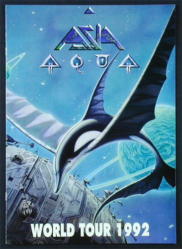 Asia 1992 Aqua World Tour Concert Program