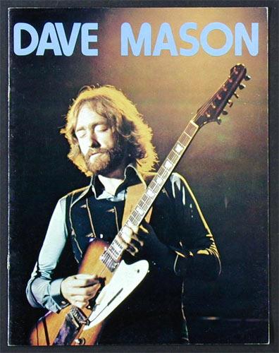 Dave Mason 1975 Tour Concert Program