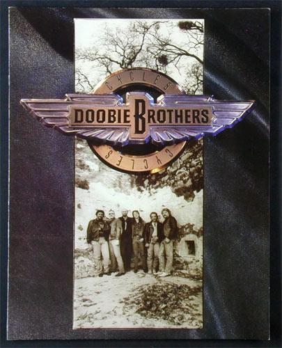 Doobie Brothers 1989 World Tour Concert Program