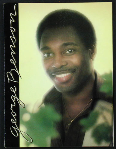 George Benson 1979 Tour Program