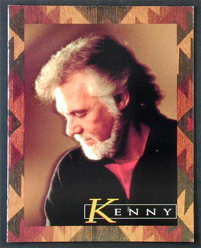 Kenny Rogers 1993 Tour Program