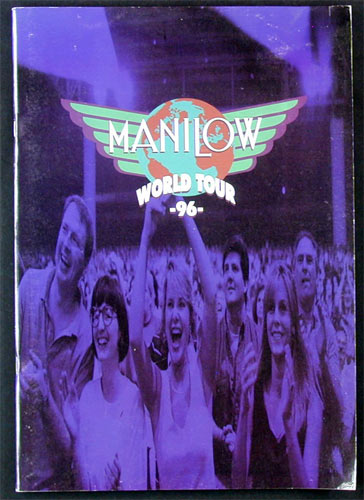 Barry Manilow 1996 World Tour Program