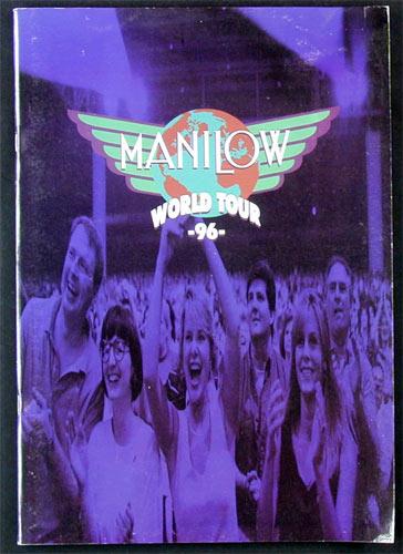 Barry Manilow 1996 World Tour Concert Program