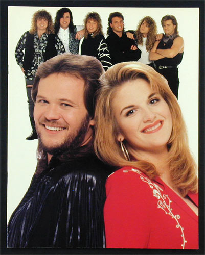 Travis Tritt And Trisha Yearwood 1993 Tour Program