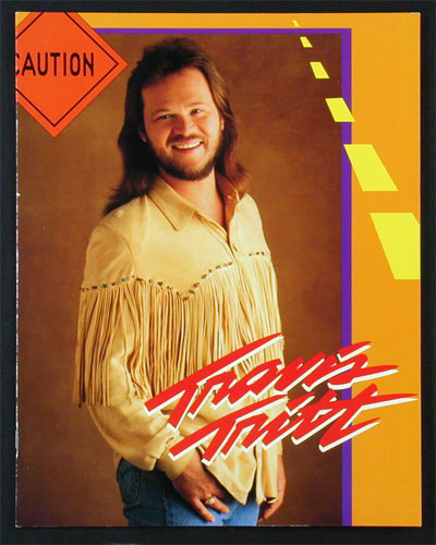Travis Tritt 1994 Tour Program