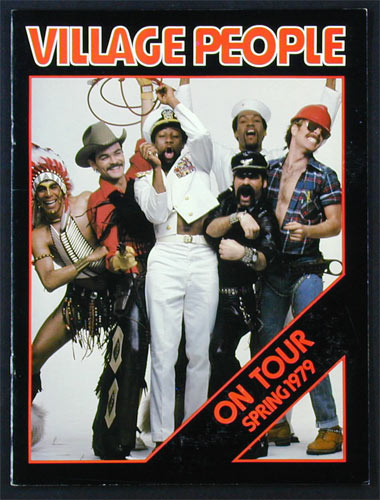 Village People 1979 Tour Program