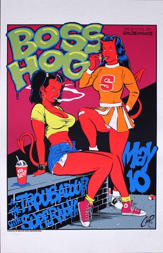 Coop Boss Hog Poster
