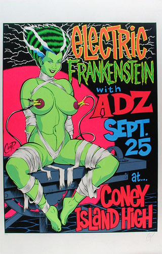 Coop Electric Frankenstein Poster