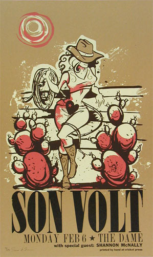 Cricket Press Son Volt Poster