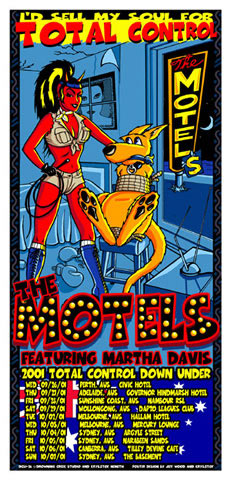 Jeff Wood and Nemeth Krysztof - Drowning Creek The Motels Poster