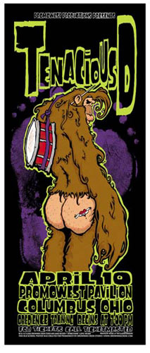 James Decker and Jeff Wood - Drowning Creek Tenacious D Poster