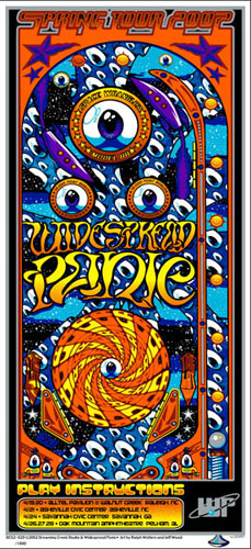 W. Ralph Walters and Jeff Wood - Drowning Creek Widespread Panic Handbill