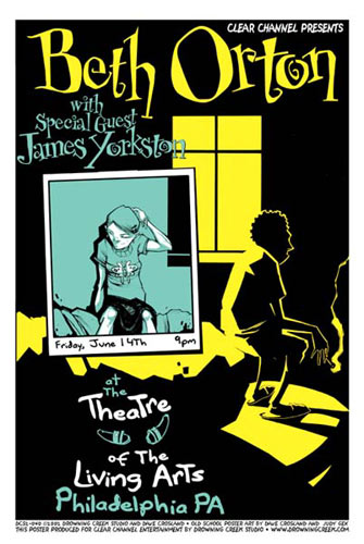 Judy Gex David Crosland and Jeff Wood - Drowning Creek Beth Orton Poster