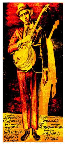Jeff Wood (photo: Lance Spencer) - Drowning Creek Yonder Mountain String Band Poster