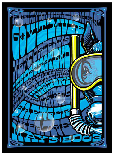 Jeff Wood and Ralph Walters - Drowning Creek Gov't Mule Poster
