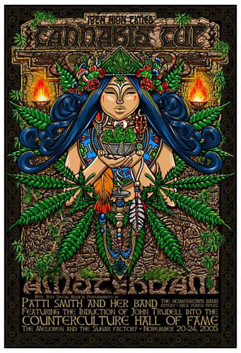 Jeff Wood - Drowning Creek High Times Cannabis Cup Poster