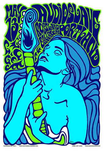 Jeff Wood - Drowning Creek Audioslave Chris Cornell Poster