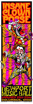 Mike Martin, Johnny Thief and Jeff Wood - Low Brow Ink Insane Clown Posse Poster